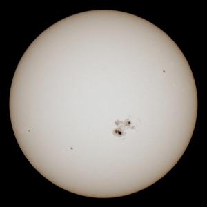 20141024太陽黒点
