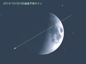 20141030_ISS通過予測ライン