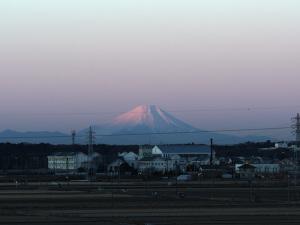 茨城からの富士山