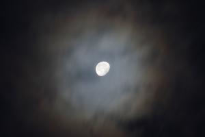 20141111月の光環