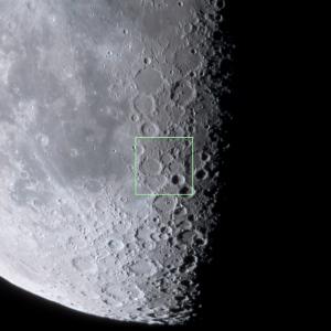 月面X位置