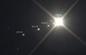 20141114明け方の木星