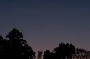 20150109金星と水星の接近