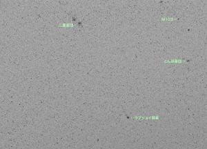 20150224ラブジョイ彗星と二重星団