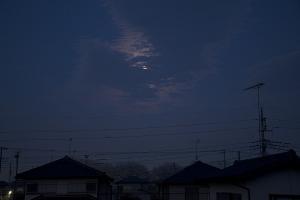 20150406夜明けの月