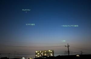 20150427水星と星団たち