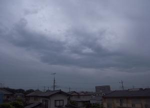 20150512台風6号接近