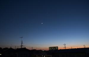 20150521夕方の西空
