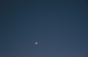 20150521月と金星