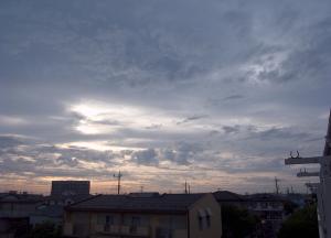 20150525夕空