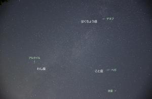 20150622夏の大三角