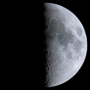 20150624上弦の月