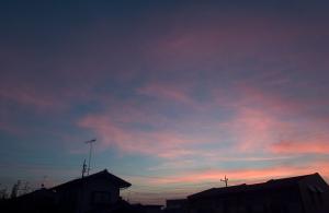 20150629夕焼け雲