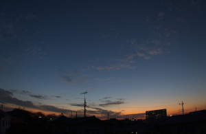 20150930夕焼け