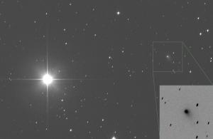 20151006夕方のパンスターズ彗星(C/2014S2)