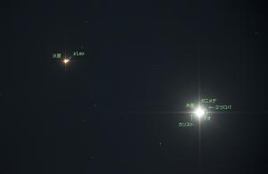 20151019木星と火星