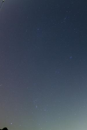 20151022オリオン座流星群