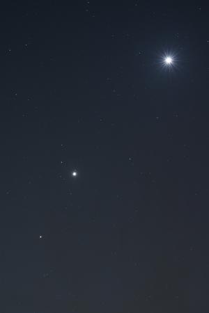 20151022明け方の惑星