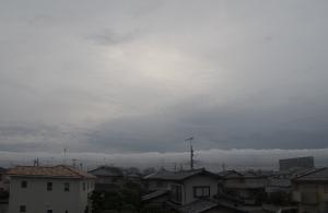 20151102夕方の雲