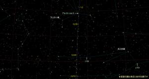 カタリナ彗星(C/2013US10)星図151210