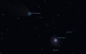 カタリナ彗星(C/2013US10)星図160117