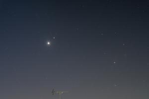 20160110金星と土星