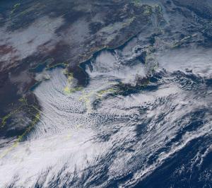20160124正午の気象衛星画像