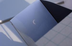 20120521ピンホール日食