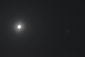 20160323月と木星の接近