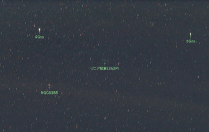 20160325リニア彗星(252P)