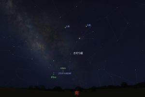 20160325リニア彗星星図