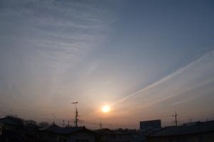 20160330夕空