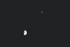 20160515月と木星の接近