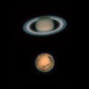 20160529土星と火星