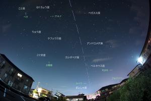 20160711国際宇宙ステーション通過