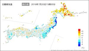 20160720-1500日最高気温の前日差