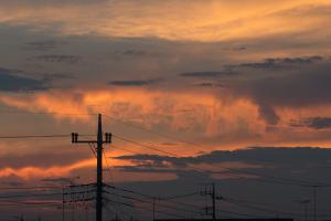 20160804夕焼け雲
