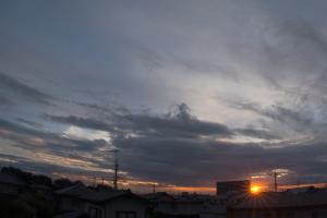 20160808夕空