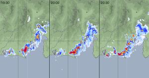 20160815静岡県吉田市の大雨