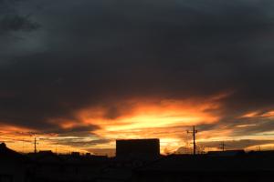 20160821夕焼け