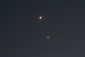 20160825火星とアンタレス