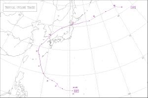 2004年台風15号