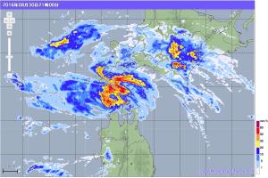 20160830-2100降雨