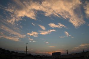 20160901夕空