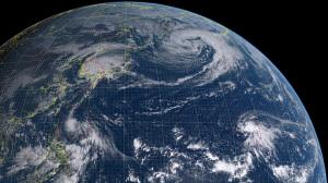 20161005-0900気象衛星画像
