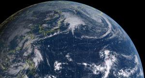 20161006-0900気象衛星画像