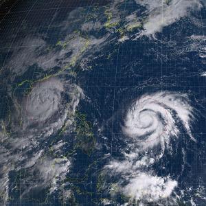 20161017-0900気象衛星画像