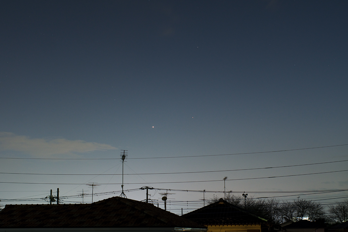20161101金星と土星