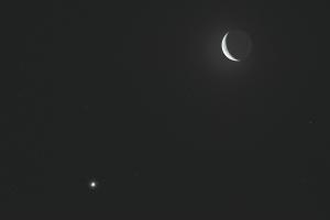 20161125月と木星の接近