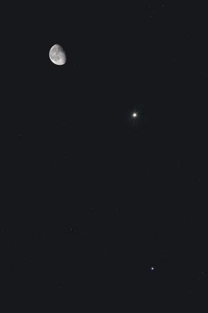 20170216月・木星・スピカの接近
